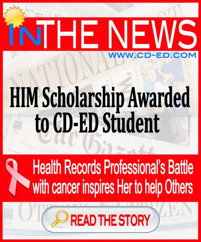 HIM Scholarship Awarded to CD-ED Student