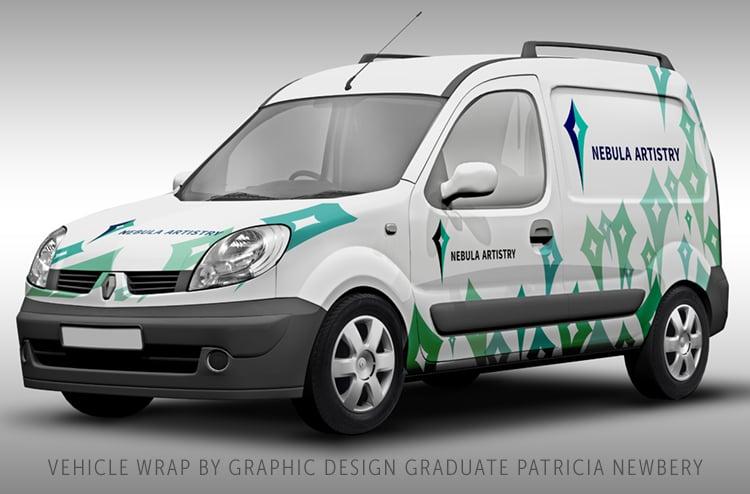 graphic design course online student work